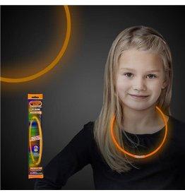 "Fun Central 22"" Orange Glow Necklace - 1ct."