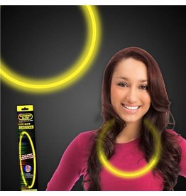 """Fun Central 22"""" Yellow Glow Necklace - 1ct."""