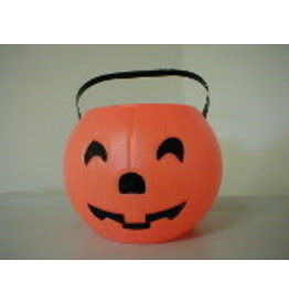 "Blinky Products 8"" Orange Pumpkin Pail"