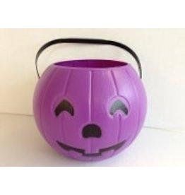 "Blinky Products 8"" Purple Pumpkin Pail"