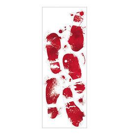 Amscan Bloody Foot Prints (Floor Gore)