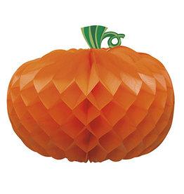 """unique Honeycomb Pumpkin Centerpiece - 11"""""""