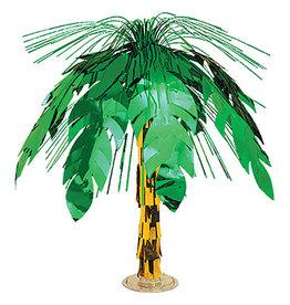 "Beistle Palm Tree Cascade Centerpiece - 18"""