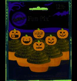 "Wilton 3"" Pumpkin Fun Picks - 12ct."