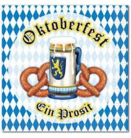 Beistle Oktoberfest Beverage Napkins - 16ct.