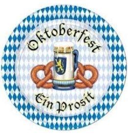 "Beistle Oktoberfest 7"" Plates - 8ct."