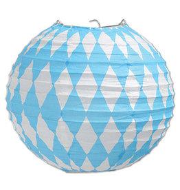 """Beistle Oktoberfest 9.5"""" Paper Lanterns - 3ct."""
