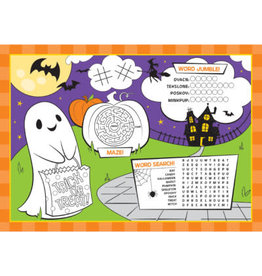 creative converting Halloween Activity Placemats - 8ct.