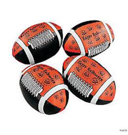 fun express Halloween Foam Mini Footballs - 1ct.