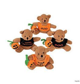 fun express Halloween Bear w/ Pumpkin - 1ct.