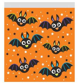 creative converting Colorful Bats Zipper Treat Bags - 10ct.