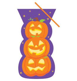 creative converting Pumpkin Stack Treat Bags w/ Ties - 20ct.