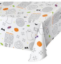 "creative converting Halloween Kids Activity Tablecover - 54"" x 88"""