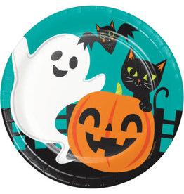"creative converting Halloween Fun 9"" Plates - 8ct."