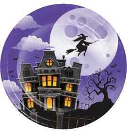 "creative converting Haunted Mansion 7"" Plates - 8ct."