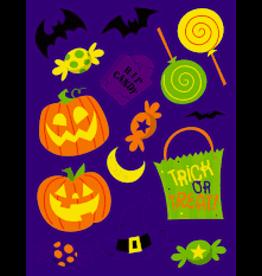 creative converting Halloween Fun Stickers - 4 ct.