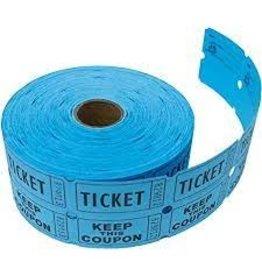 Indiana Ticket Company Small Double Roll Raffle Tickets - 1000ct.