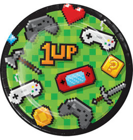 "creative converting Gaming Party 7"" Plates - 8ct."