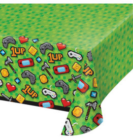 """creative converting Gaming Party Tablecover - 54"""" x 102"""""""