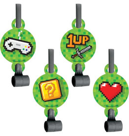 creative converting Gaming Party Blowouts - 8ct.
