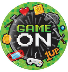 "creative converting Gaming Party 9"" Plates - 8ct."
