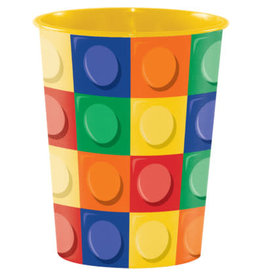 creative converting Block Party 16oz Party Cup - 1ct.