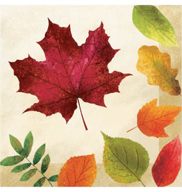 creative converting Colorful Leaves Lunch Napkins - 16ct.