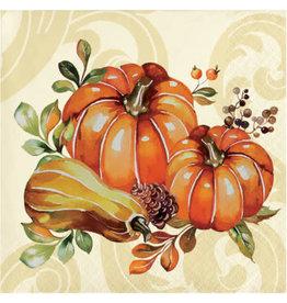 creative converting Autumn Wreath Beverage Napkins - 16ct.