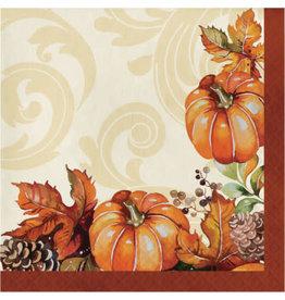 creative converting Autumn Wreath Lunch Napkins - 16ct.