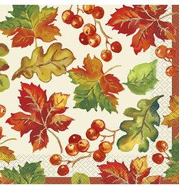 unique Berries & Leaves Lunch Napkins - 16ct.