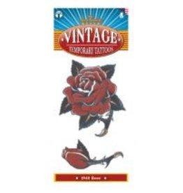 Tinsley Transfers Vintage 1940 Rose Tattoo