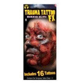 Tinsley Transfers Burned Alive Tattoos - 16ct.