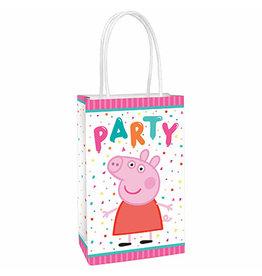 Amscan Peppa Pig Paper Kraft Bags - 8ct.
