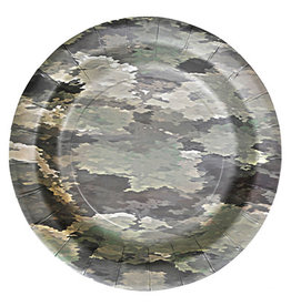 "Havercamp Camouflage 7"" Plates - 8ct."