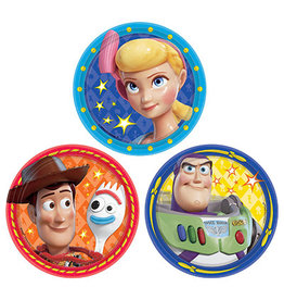 """Amscan Toy Story 4 7"""" Plates - 8ct."""
