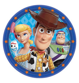"""Amscan Toy Story 4 9"""" Plates - 8ct."""