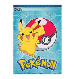 Amscan Pokemon Loot Bags - 8ct.