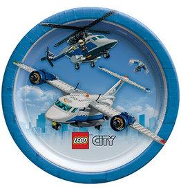 "Amscan Lego City 7"" Plates - 8ct."