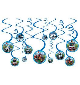 Amscan Lego City Swirl Decorations - 12ct.