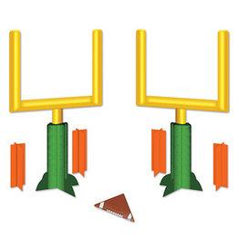 Beistle 3-D Football Goal Post Centerpieces