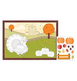 creative converting Fall Activity Placemats - 8ct.