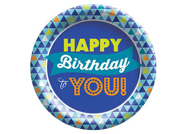 True Blue Birthday
