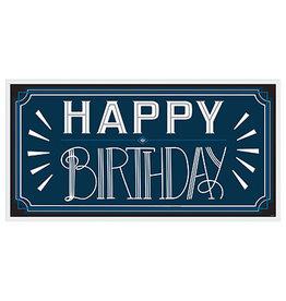 Amscan Happy Birthday Man Banner - 5ft.
