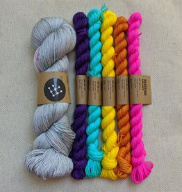 Nina Chicago Clouds Yarn Crawl 2020 Kit