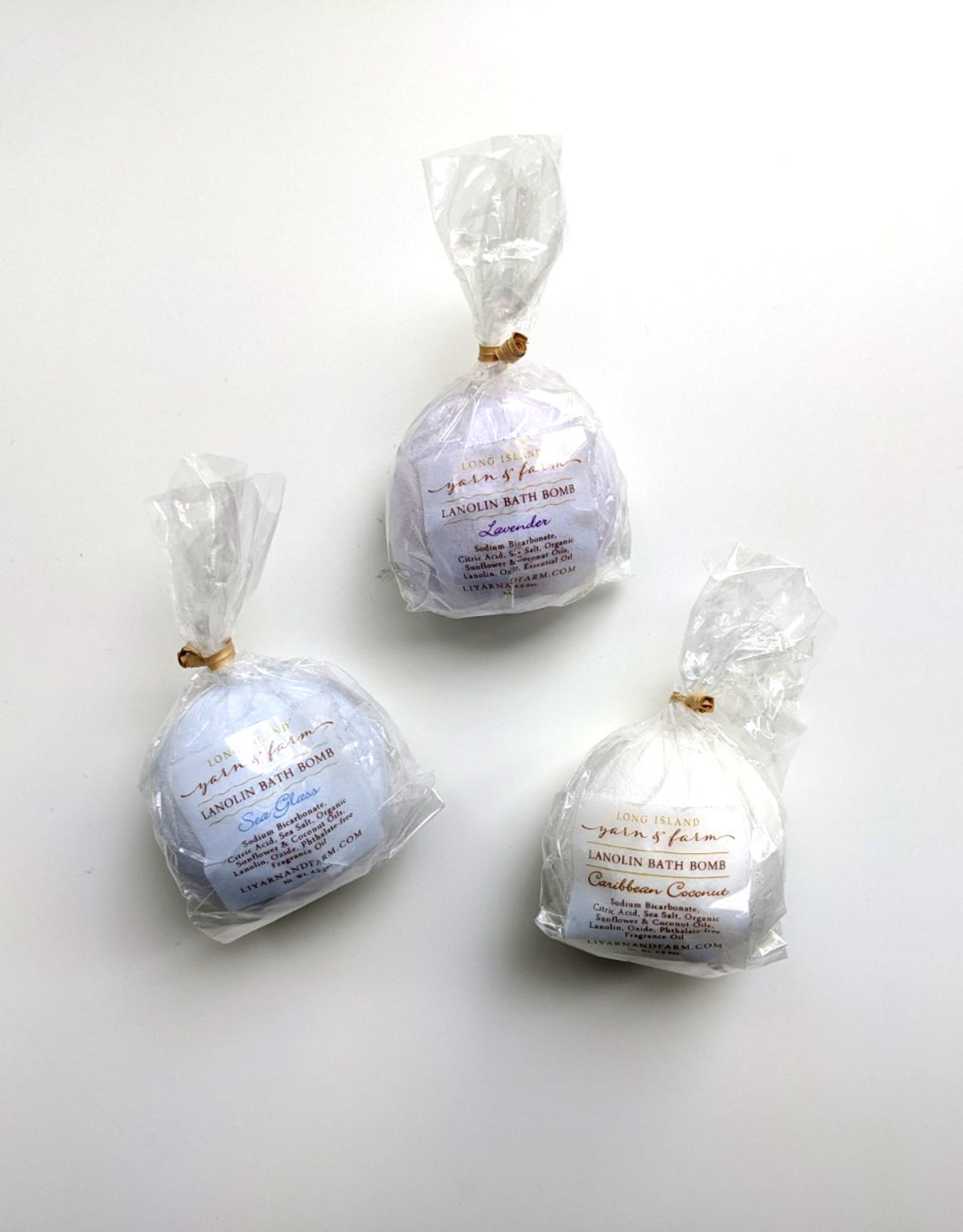 Long Island Livestock Co Shepherdess Lanolin Bath Bomb