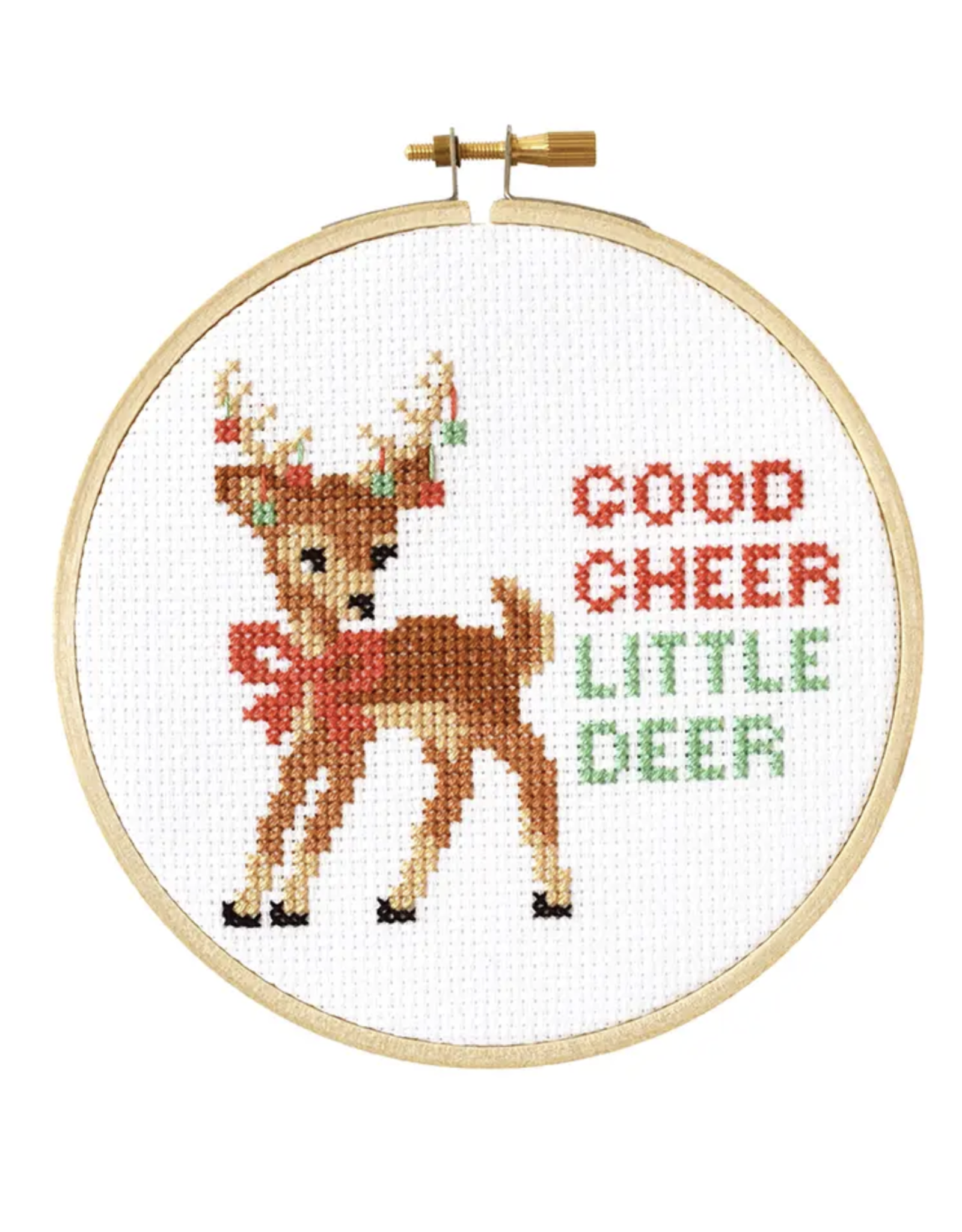 Stranded Stitch Cross Stitch Kit