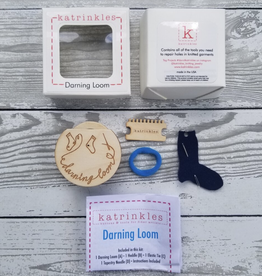 Katrinkles Nina Chicago Darning & Mending Loom Kit