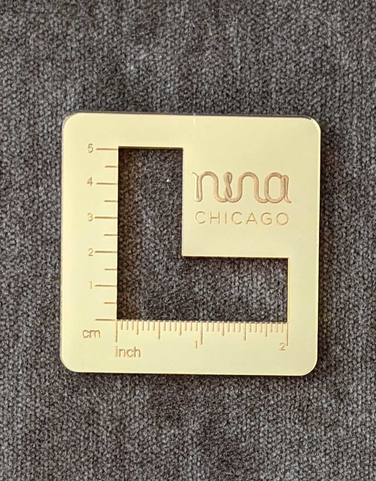 Katrinkles Nina Chicago Mirror Gauge Swatch Ruler