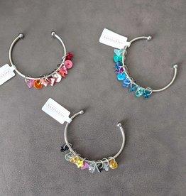 Katrinkles Custom Stitch Marker Bracelet