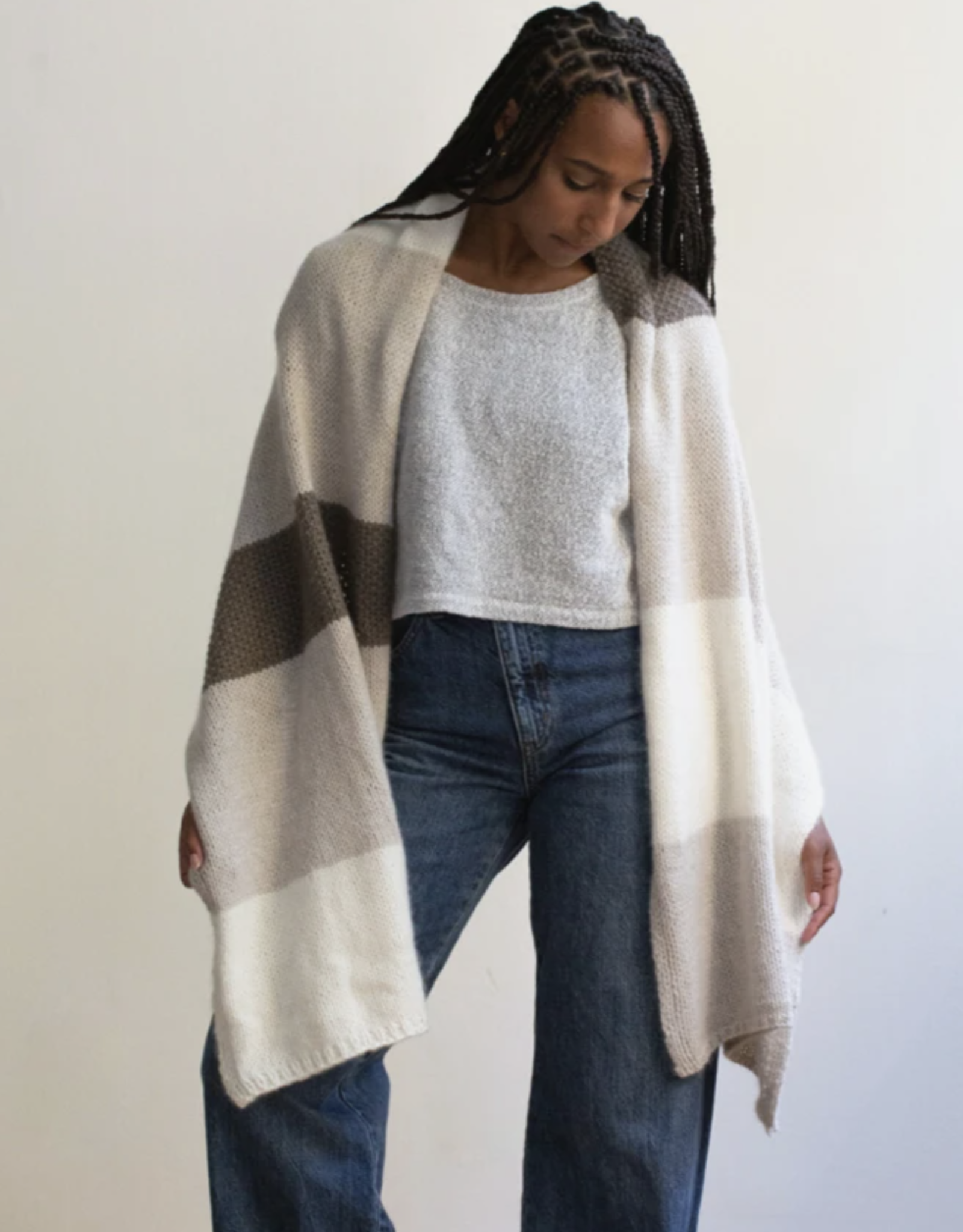 Clinton Hill Cashmere Country Wrap Kit